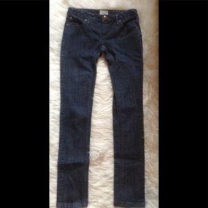 Free People Slim Straight Dark Wash jeans